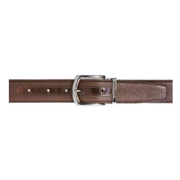 Moreschi Helsinky Grained Calfskin Belt Brown Image
