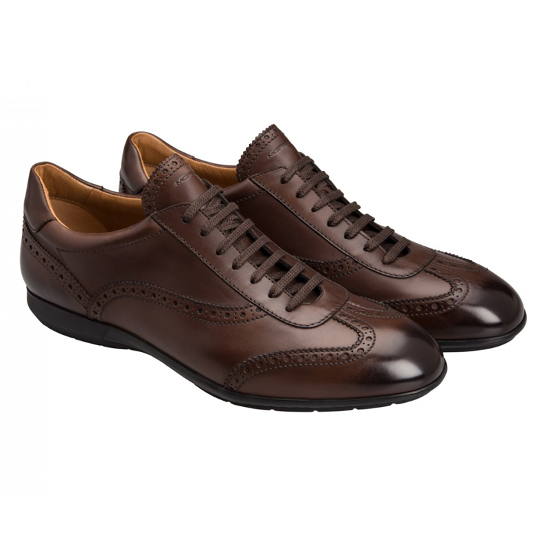 Moreschi 42245 Leather Sneaker Brown (SPECIAL ORDER) Image