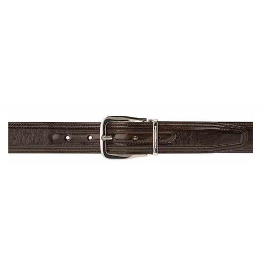 Moreschi Lione Peccary & Calfskin Belts Brown Image