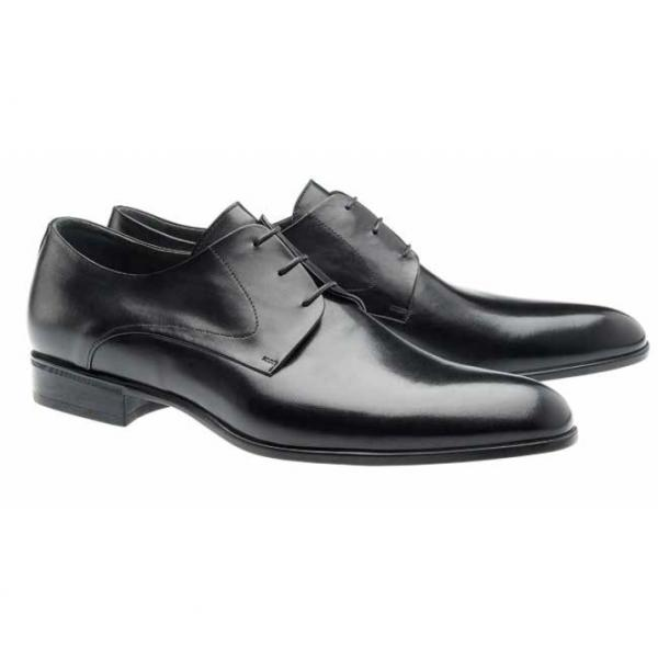 Moreschi Liverpool Derby Shoes Black Image