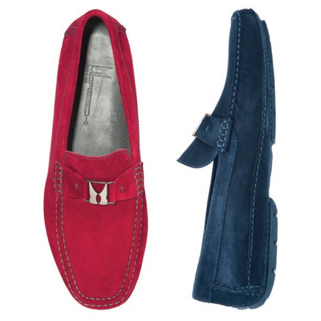Moreschi Scarpine Suede Driving Loafers Image