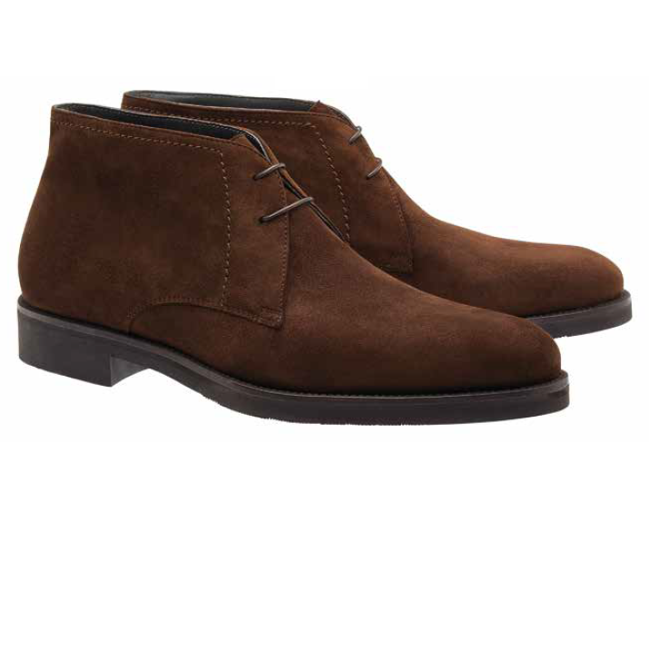 Moreschi Seattle Suede Chukka Boots Brown Image