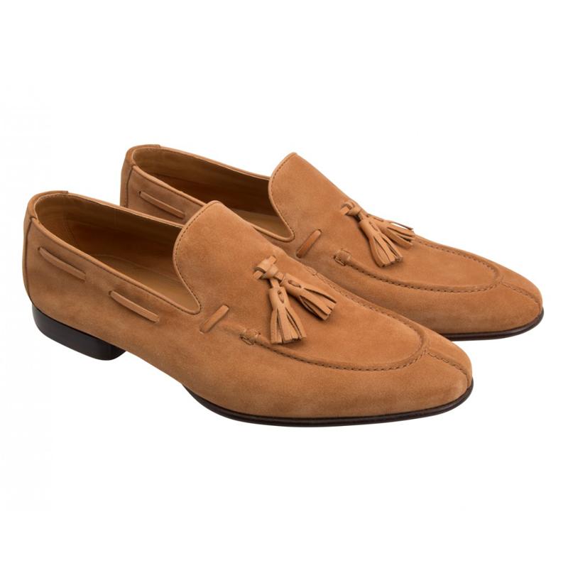 Moreschi 042089A Suede Tassel Loafers