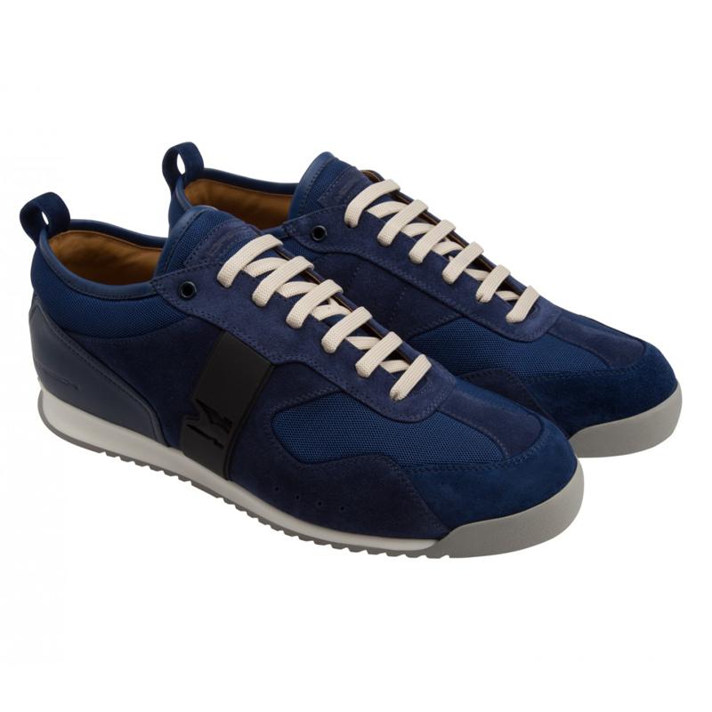 Moreschi YUCATAN05 Suede Yucatan Sneaker Blue Image