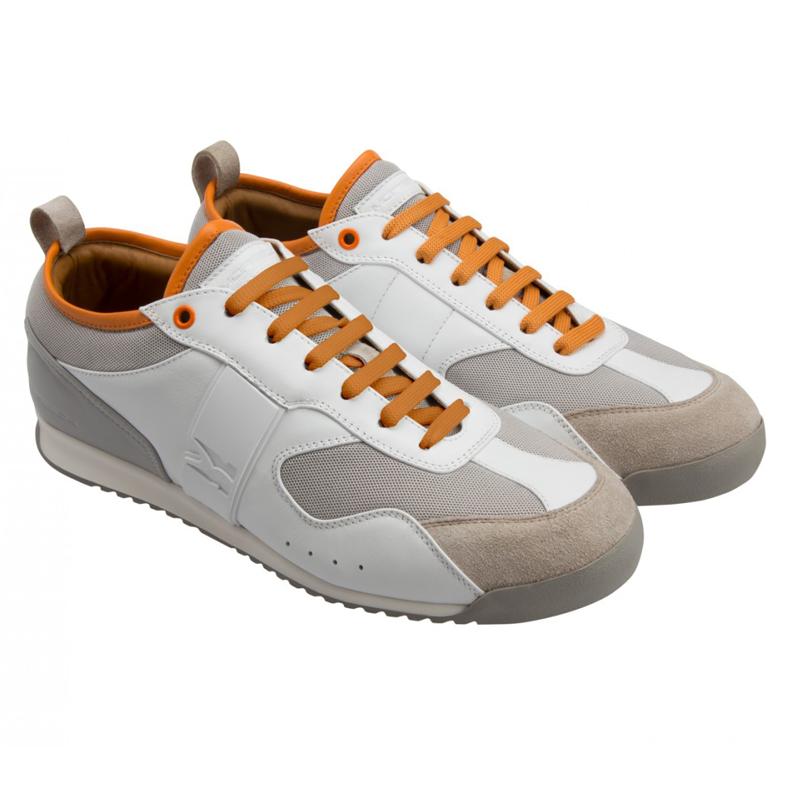 Moreschi YUCATAN03 Suede Yucatan Sneaker White Image