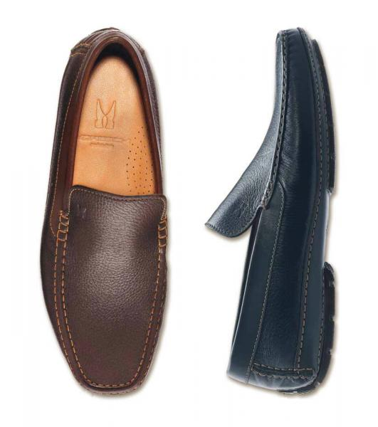 Moreschi Aiaccio II Deerskin Driving Shoes (SPECIAL ORDER) Image