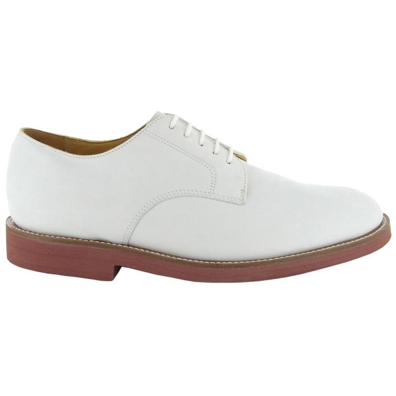Neil M Cambridge Nubuck Shoes White Image