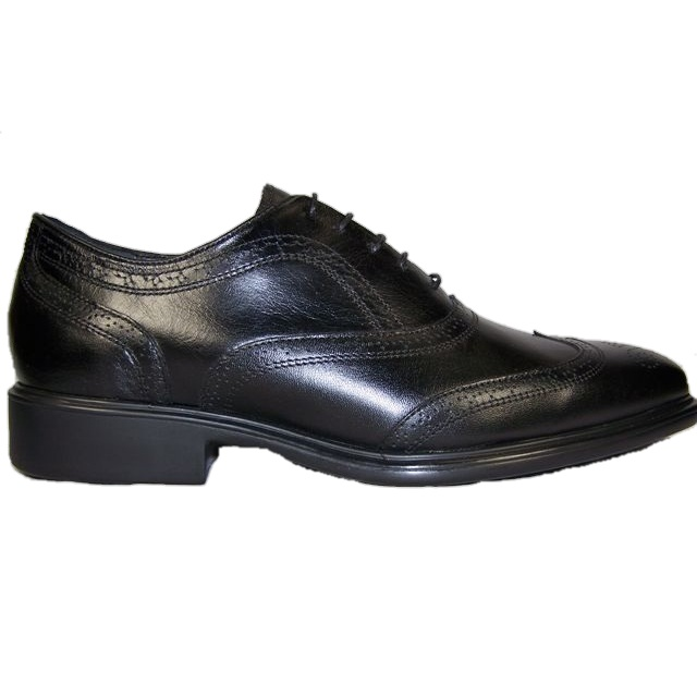 Neil M Chairman Wing Tip Shoes Black Image