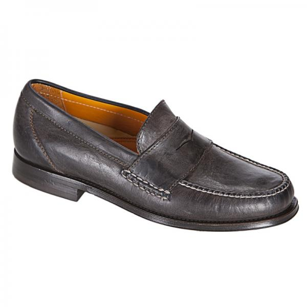 Neil M Cooper Penny Loafers Vintage Brown Image
