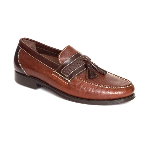 Neil M Fairbanks Tassel Loafers Walnut Image