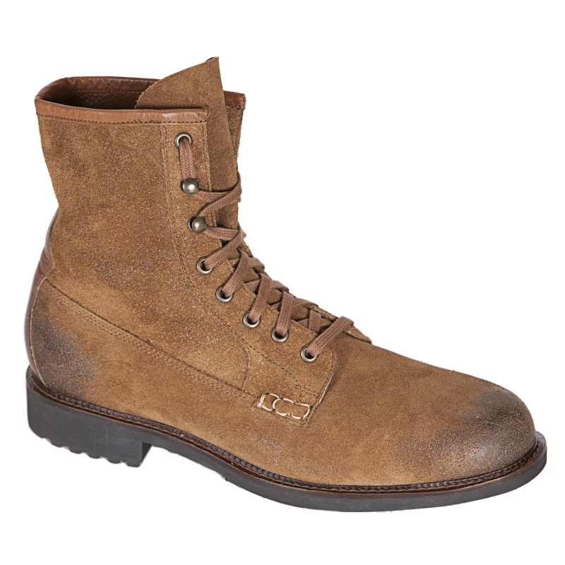 Neil M Ike Suede Boots Tan Image