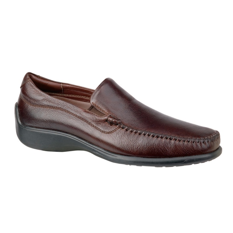 Neil M Rome Comfort Loafers Walnut Image