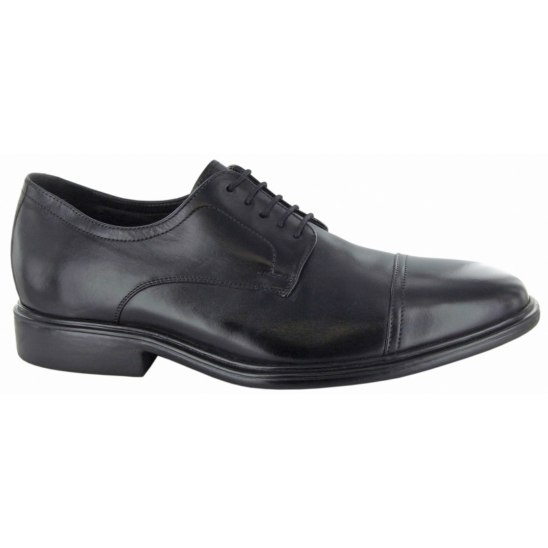 Neil M Senator Cap Toe Shoes Black Image