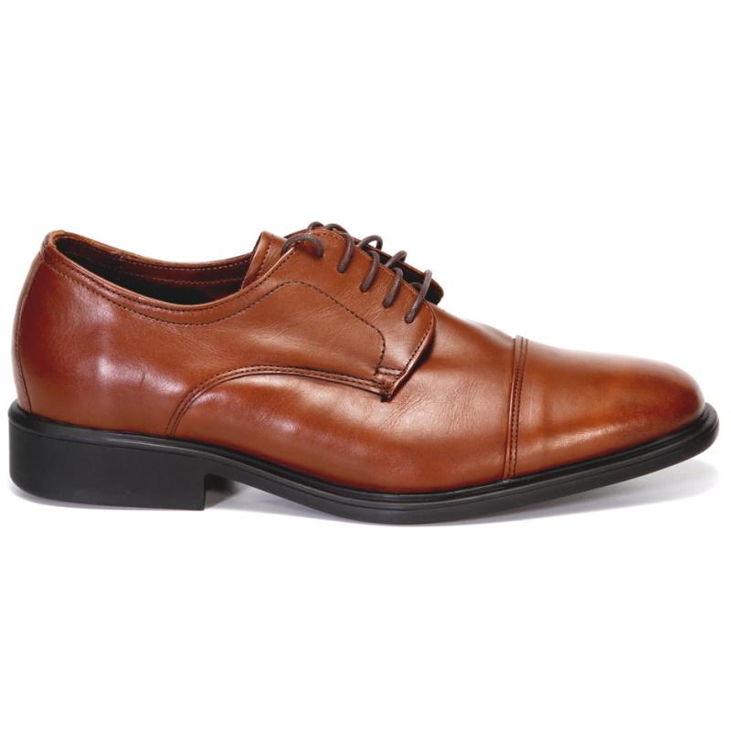 Neil M Senator Cap Toe Shoes Saddle Tan Image