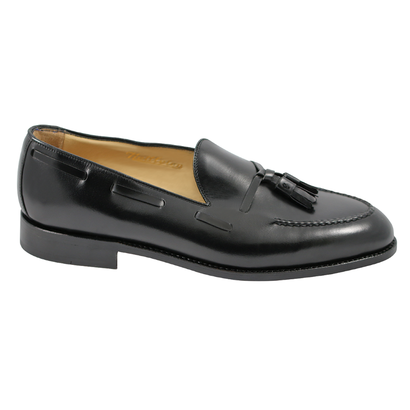 Nettleton Barrington Goodyear Welted Tassel Loafers Black Image