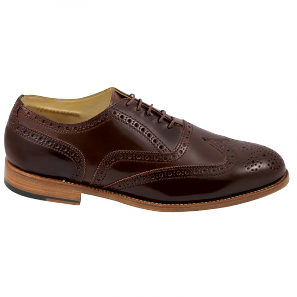 Nettleton Fayetteville Goodyear Welted Wingtip Brogues Burgundy Image