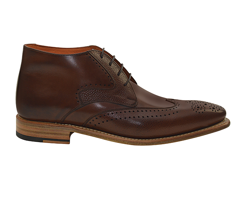 Nettleton Keith Wingtip Boots Brown Image
