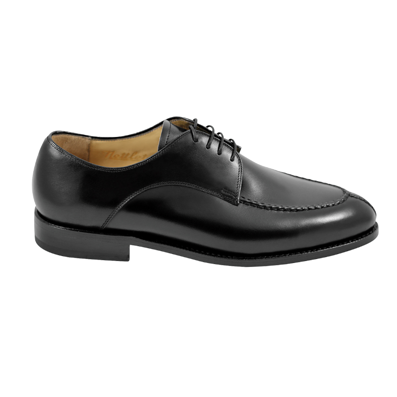 Nettleton Madison Goodyear Welted Moc Toe Derby Shoes Black Image