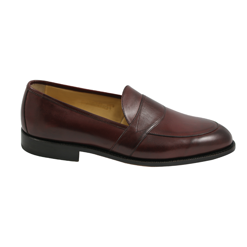 Nettleton Savannah Goodyear Welted Loafers Burgundy Image