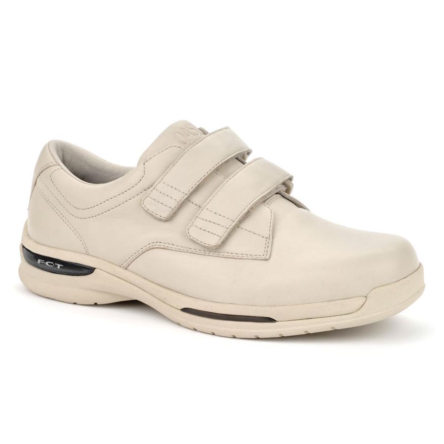 Oasis Shoes Mens Nevis Hook & Loop Velcro Comfort Sneakers Image