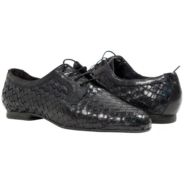 Paolo Shoes Kirk Woven Shoes Dark Stone Gray Image
