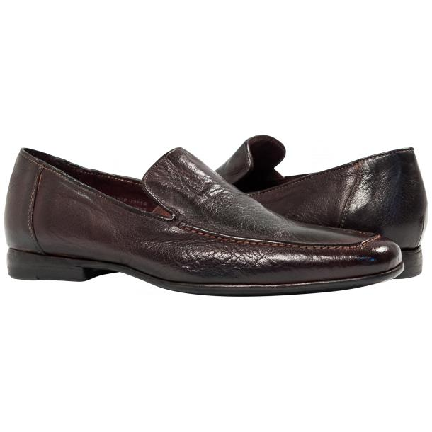 Paolo Shoes Les Nappa Loafers Liver Image