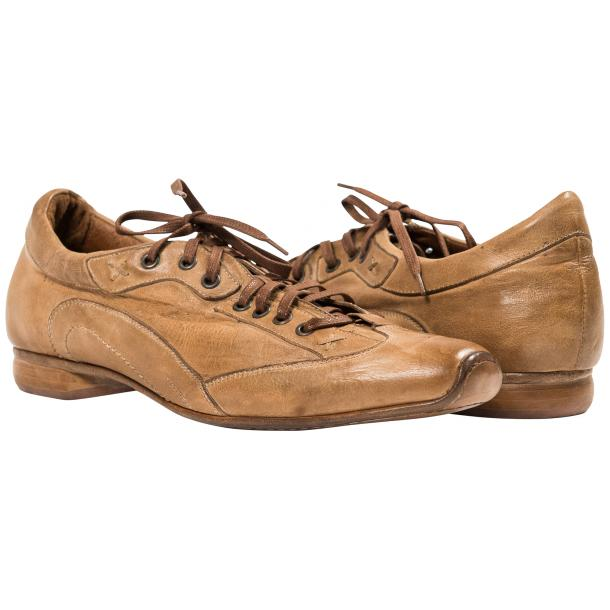 Paolo Shoes Turner Nappa Leather Sole Sneakers Rope Image