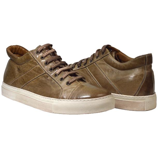 Paolo Shoes Winston Low Top Sneakers Rope Beige Image