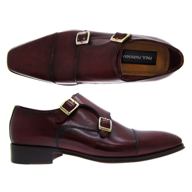 Double Monk Strap Dress Shoes