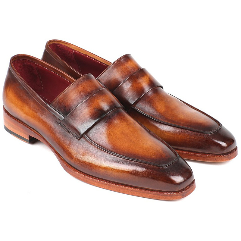 Paul Parkman Calfskin Loafers Brown Image