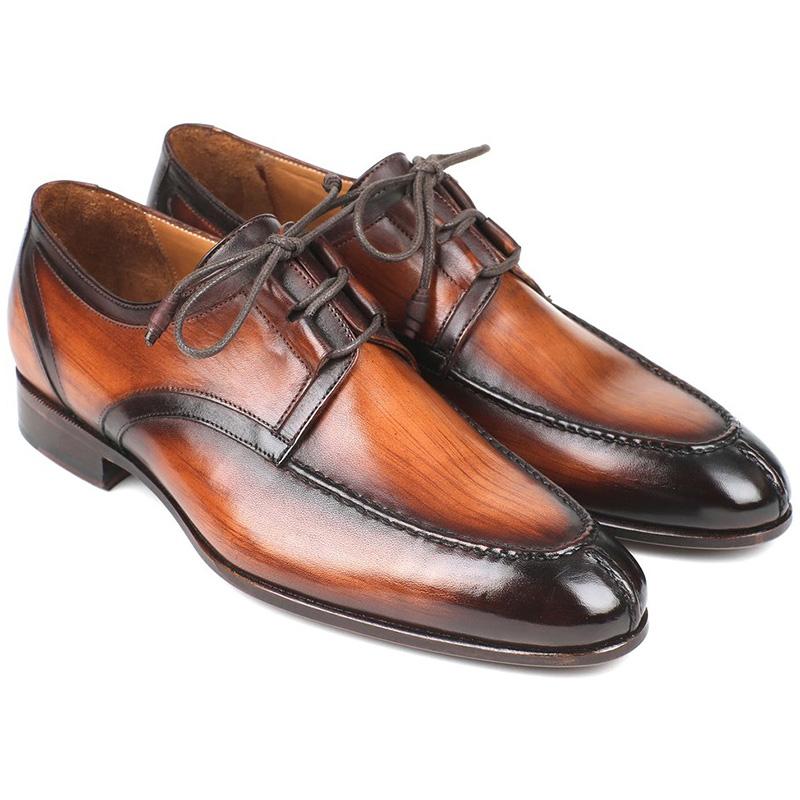 Paul Parkman Calfskin Shoes Burnished Brown Image