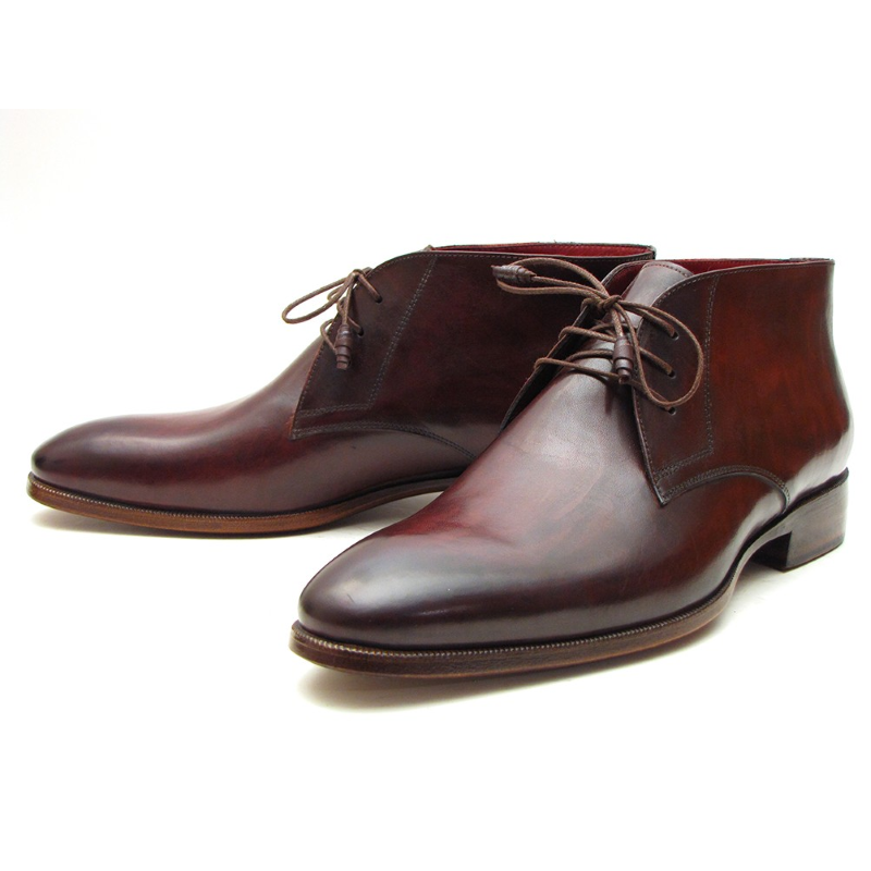 Paul Parkman Chukka Boots Brown / Bordeaux Image