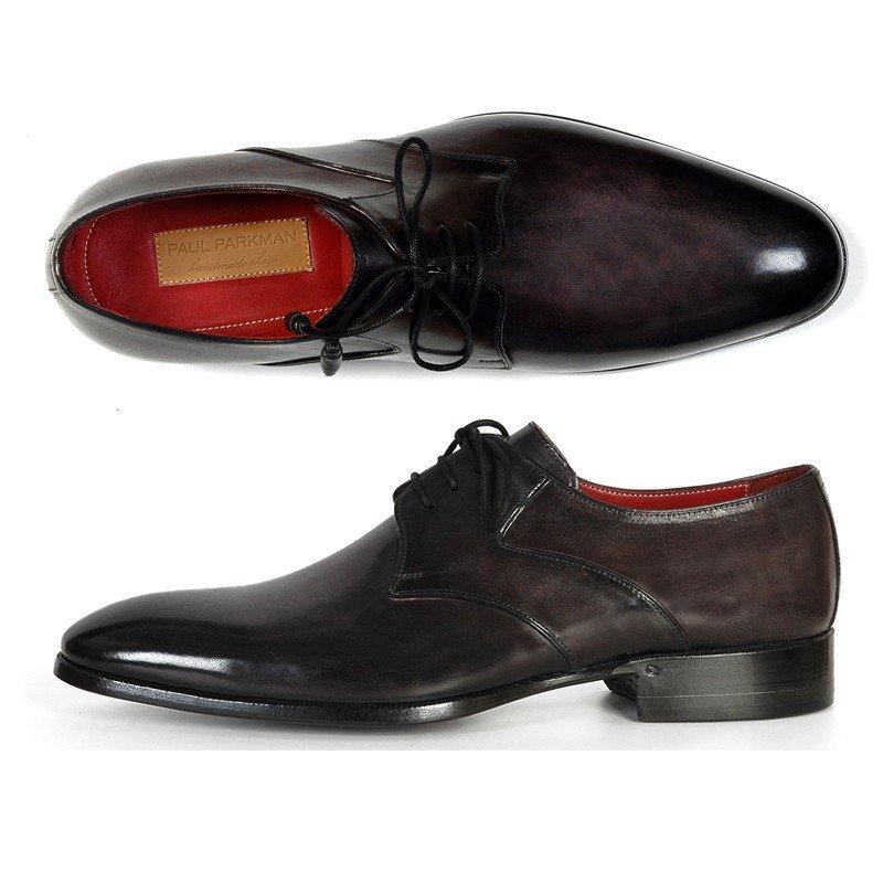 Paul Parkman Derby Shoes Anthracite Image