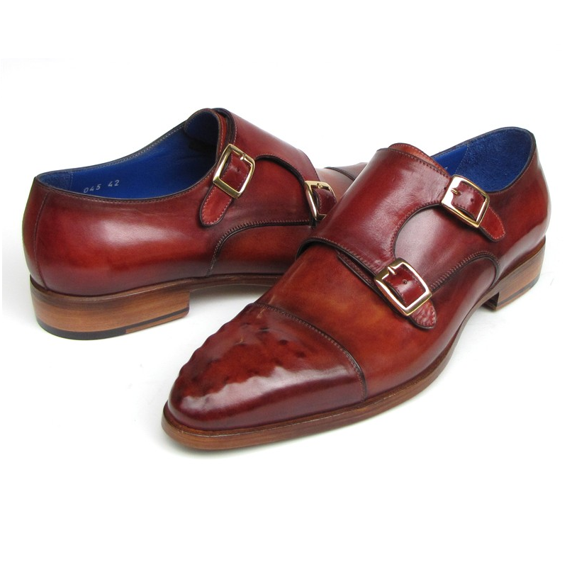 "Monkstraps are simply any shoe that uses a single buckle closure instead of laces or gore. Sometimes referred to as the ""most advanced"" dress shoe for men, the monk strap has been overshadowed in recent years by its flashier brother, the double monk."