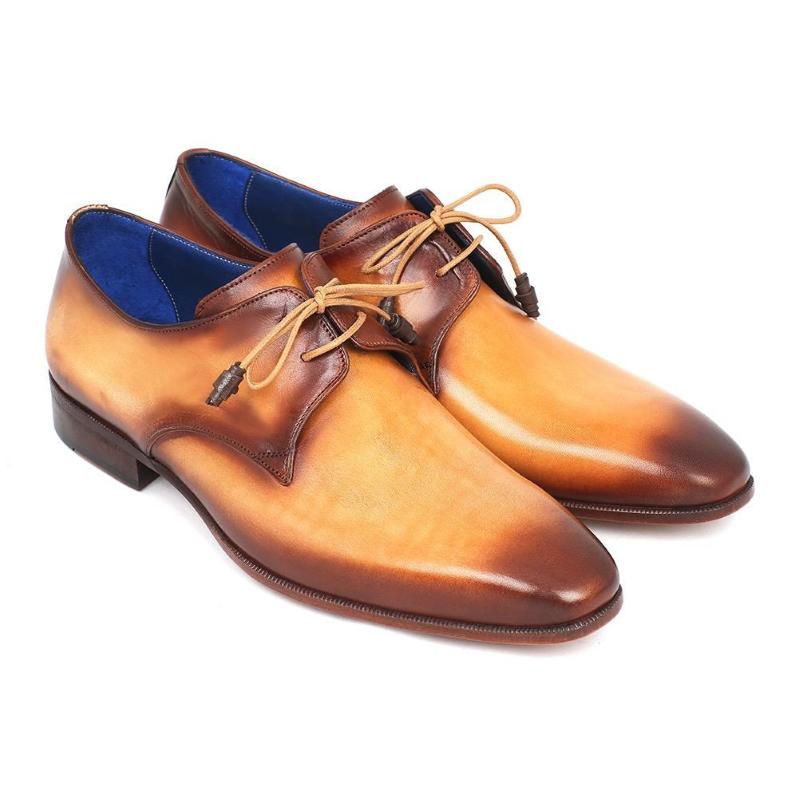 Paul Parkman Plain Toe Shoes Camel / Brown Image