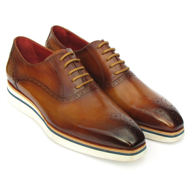 Paul Parkman Smart Casual Oxfords Brown Image