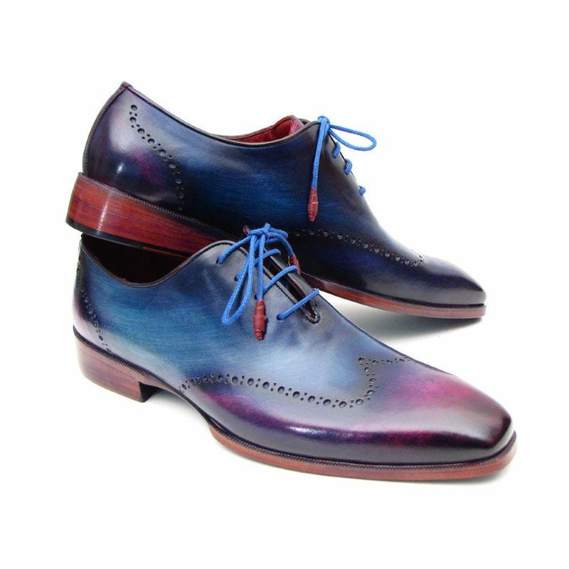 Paul Parkman Wingtip Oxfords Blue / Purple Image