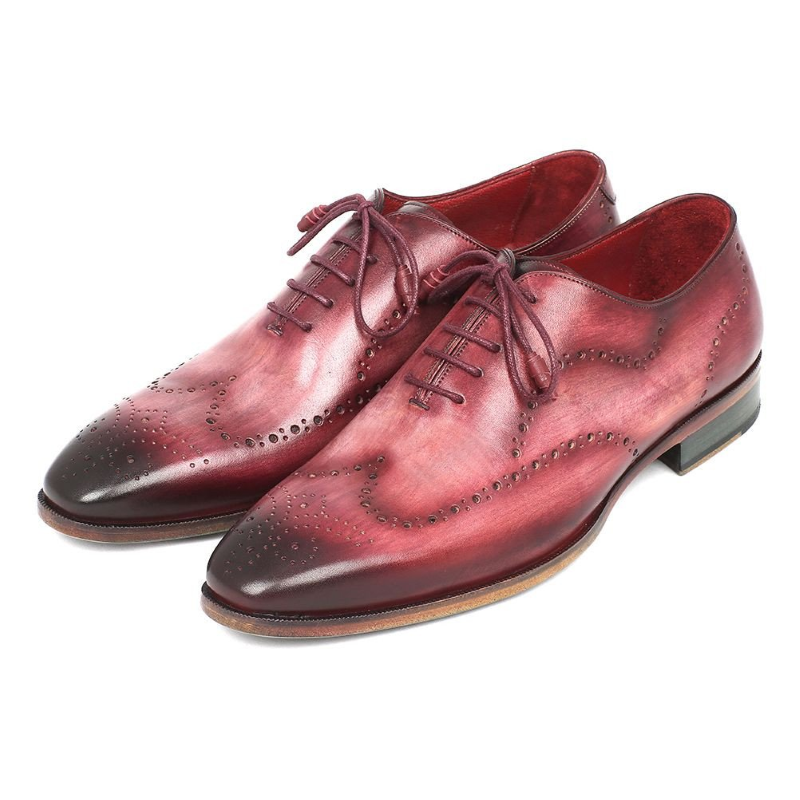 Paul Parkman Wingtip Oxfords Burgundy Image