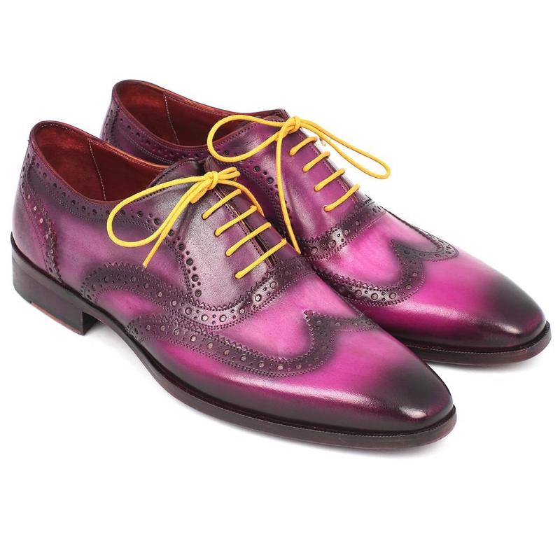 Paul Parkman Wingtip Oxfords Lilac Image