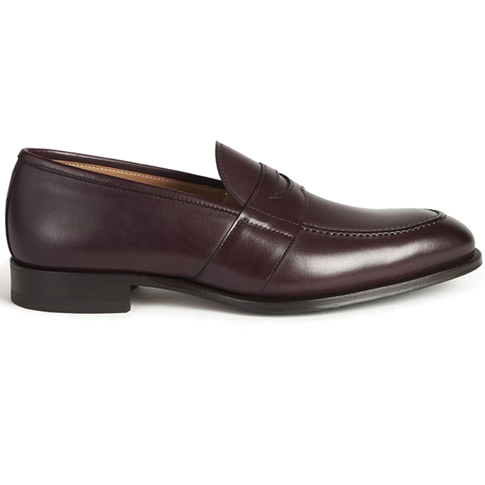 Paul Stuart Bane Penny Loafer Bordo Image