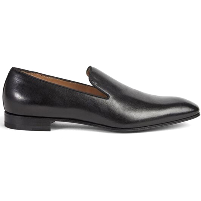 Paul Stuart Harrier Calfskin Formal Shoes Black Image