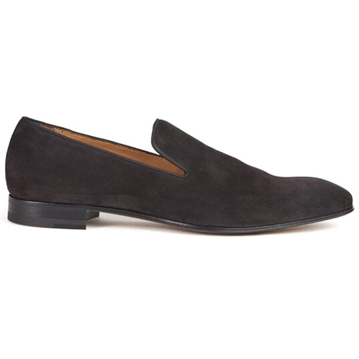Paul Stuart Harrier Suede Formal Shoes Graphite Image