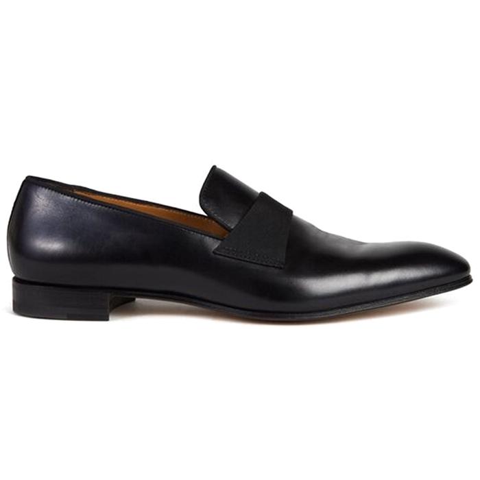 Paul Stuart Heron Formal Slip On Black Image