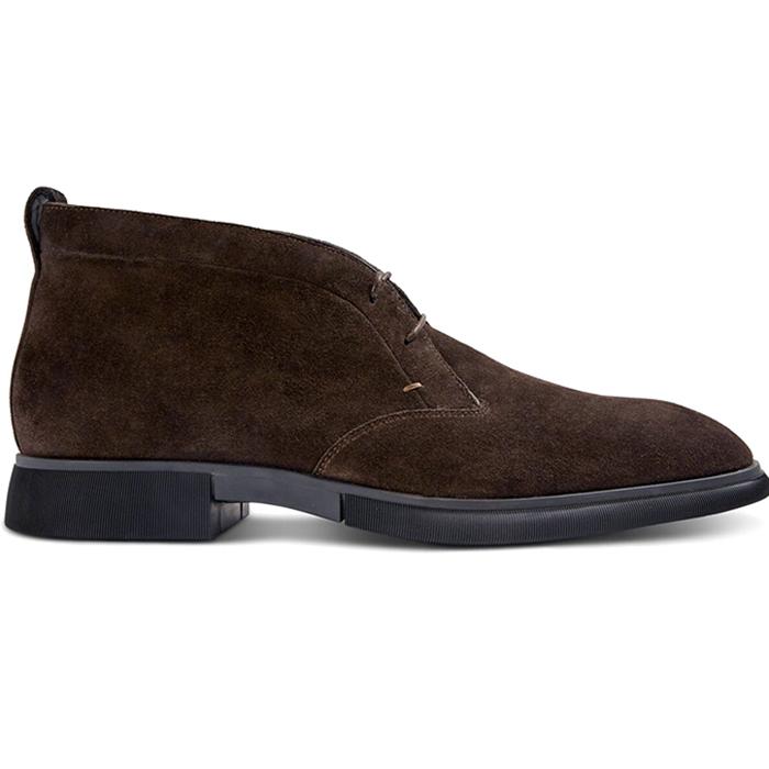 Paul Stuart Malibu Suede Chukka Boots Dark Brown Image