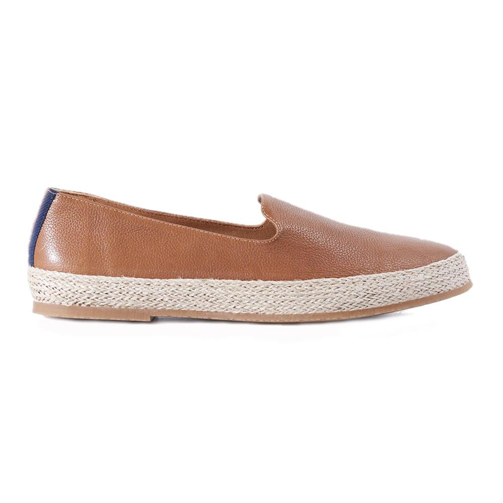 Paul Stuart Milo Slip-on Shoes Cognac Image