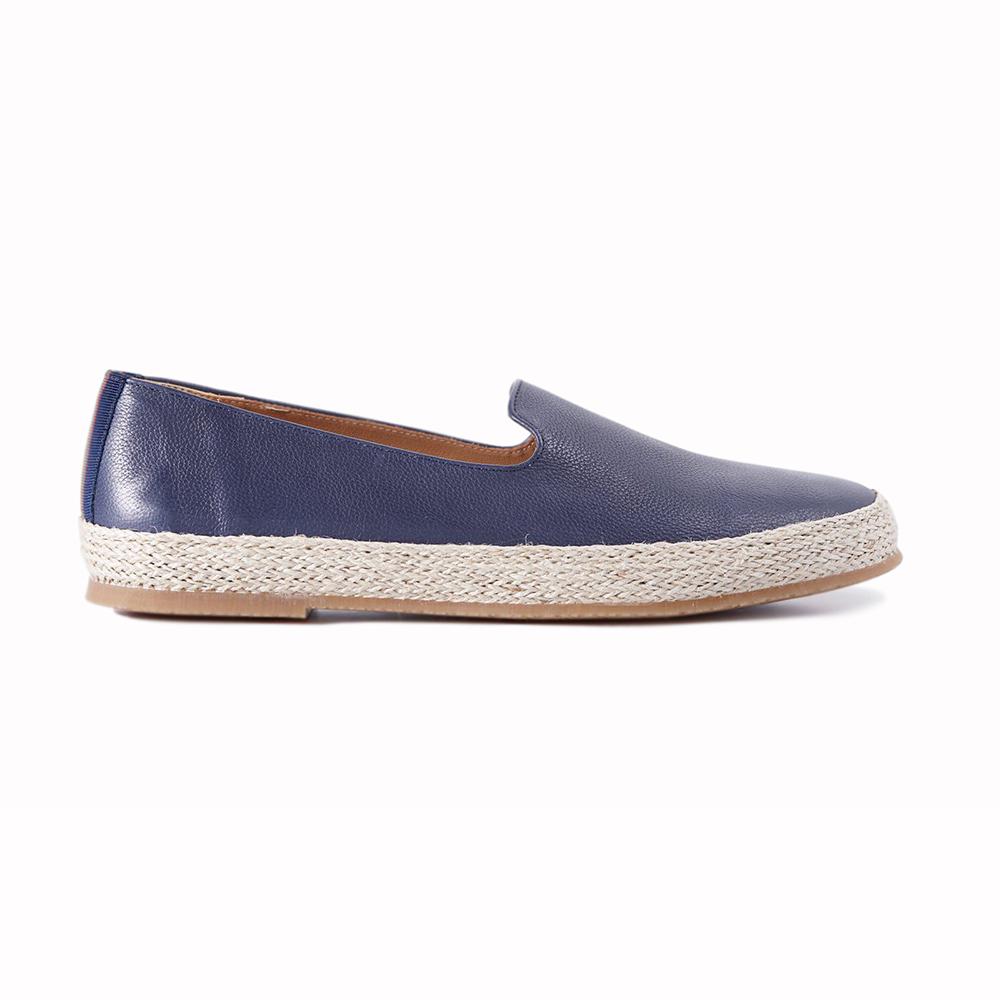Paul Stuart Milo Slip-on Shoes Navy Image