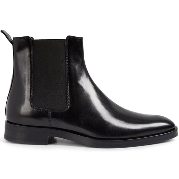 Paul Stuart Natale Nappa Chelsea Boots Black Image