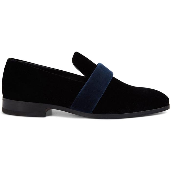 Paul Stuart Nuccio Formal Slip On Shoes Black Image
