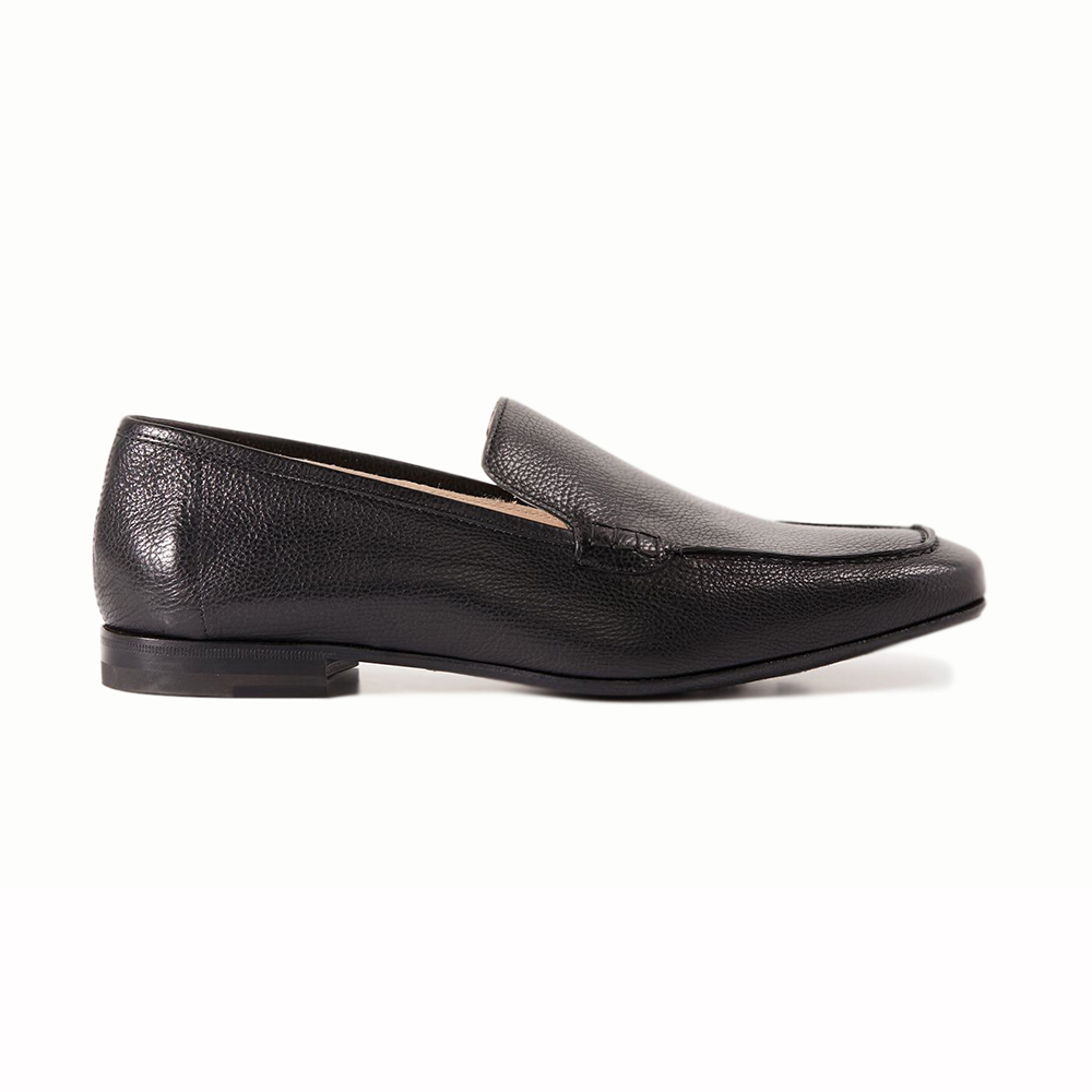 Paul Stuart Paris Slip-on Shoes Black Image