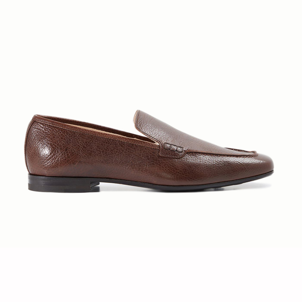 Paul Stuart Paris Slip-on Shoes Brown Image
